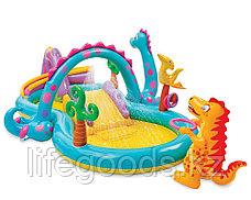 """Надувной игровой центр - бассейн """"Планета динозавров"""", Intex 57135, фото 2"""
