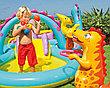 """Надувной игровой центр - бассейн """"Планета динозавров"""", Intex 57135, фото 4"""