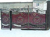 Ворота калитка, фото 1