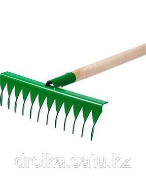 Грабли витые РОСТОК 421900-12, садовые, с черенком, 12 зубцов, фото 2