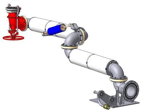 Устройство нижнего слива УНС-100 (УНСА-100)