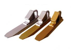 Башмак железнодорожный алюминиевый противооткатный БК-1А