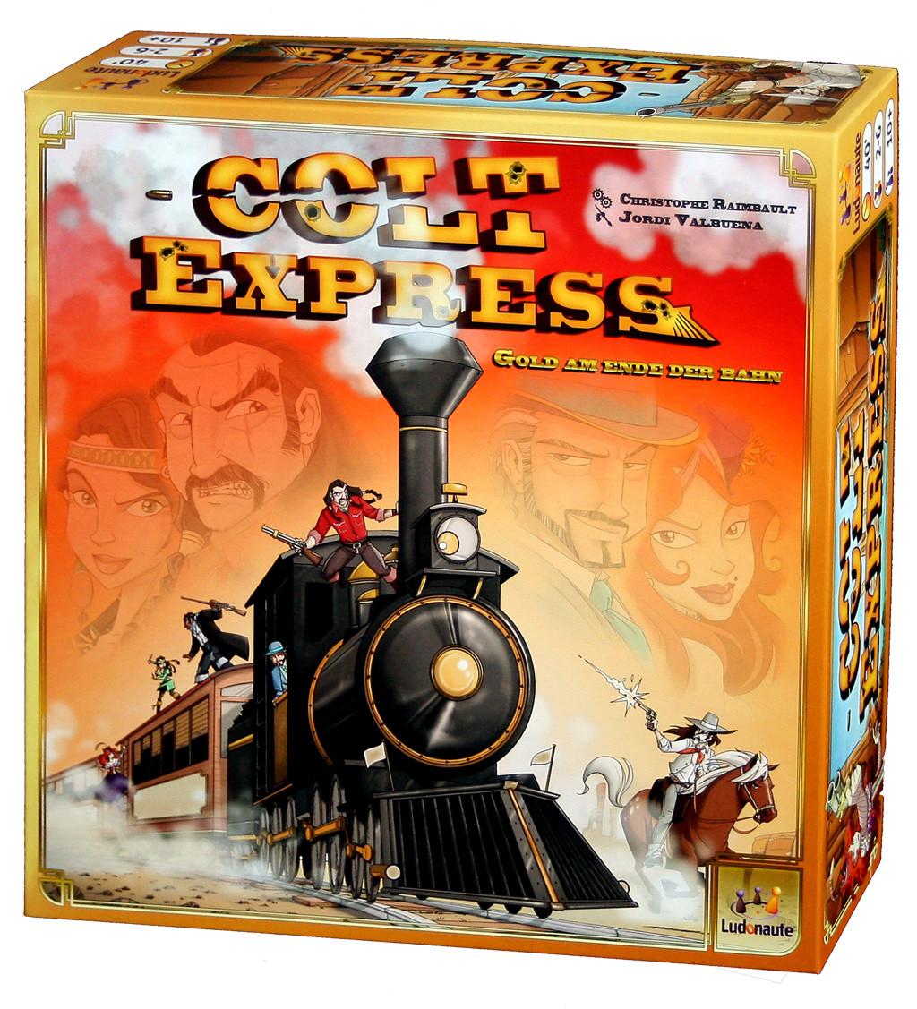 Настольная игра: Кольт Экспресс