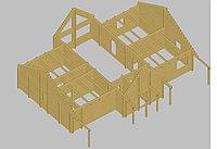 Проект дома из бруса, фото 1