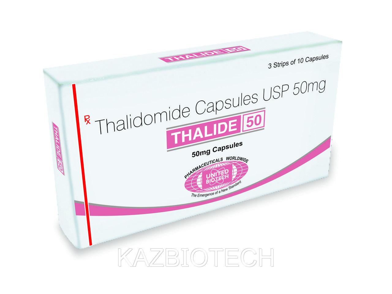 Талид  Талидомид (Thalide, Thalidomide) капсулы 50 мг