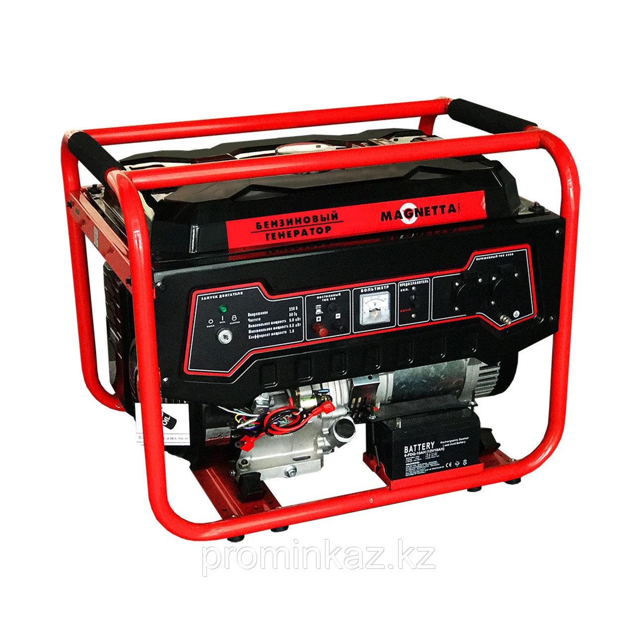 Бензиновый генератор MAGNETTA GFE6500, 5,5 кВт