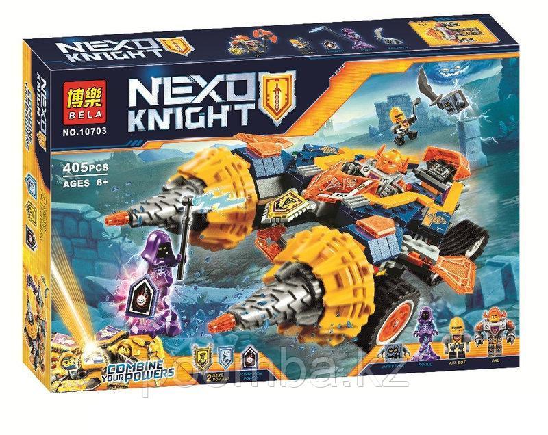 """Конструктор Nexo Knight """"Бур-машина Акселя"""""""