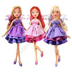 """Кукла Winx Club """"Волшебное платье"""", 3 шт. в ассортименте"""