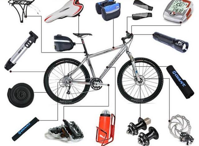 Велоаксессуары и запчасти
