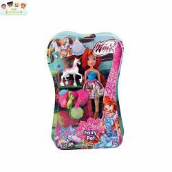 Кукла winx club волшебный питомец 3 шт в ассортименте