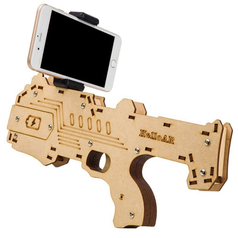 Hello AR Gun - игровой автомат виртуальной и дополненной реальности