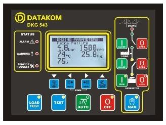 DKG-543 Автоматический ввод резерва, фото 2