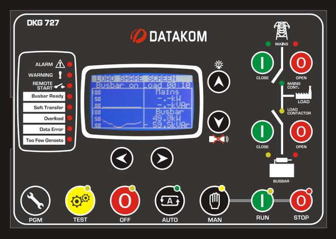 DKG-727 Модуль синхронизации сети и генераторов, фото 2