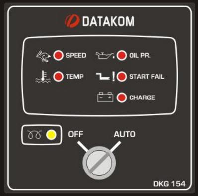 DKG-154 Модуль дистанционного запуска генератора, фото 2