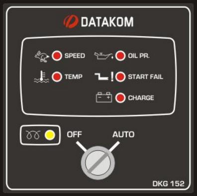 DKG-152 Модуль дистанционного запуска генератора, фото 2