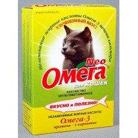 Омега Neo К-М Для котят c таурином и L- карнитином, 60таб