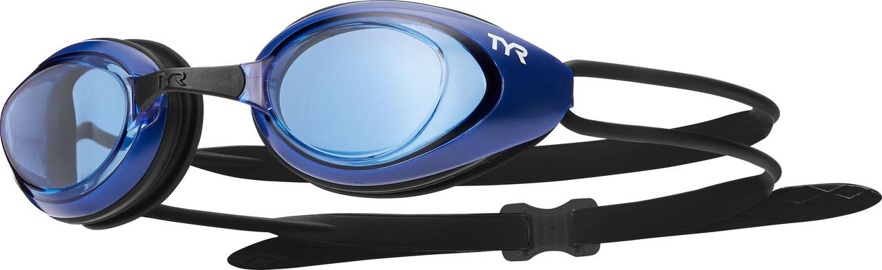 Очки для плавания TYR Black Hawk Racing 460