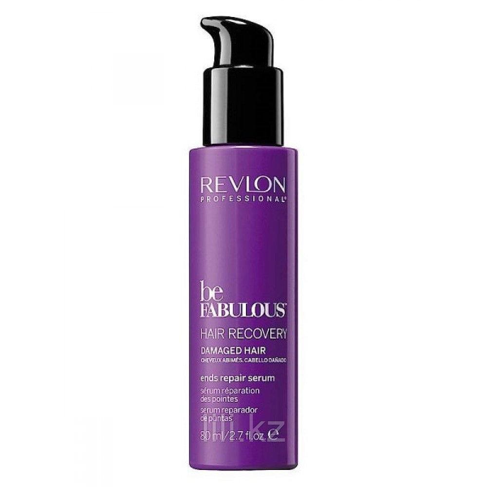 Восстанавливающая сыворотка для кончиков волос Revlon Be Fabulous Hair Recovery 80 мл.