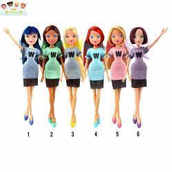 "Кукла winx club ""мода и магия-3"" 6 шт в ассортименте"