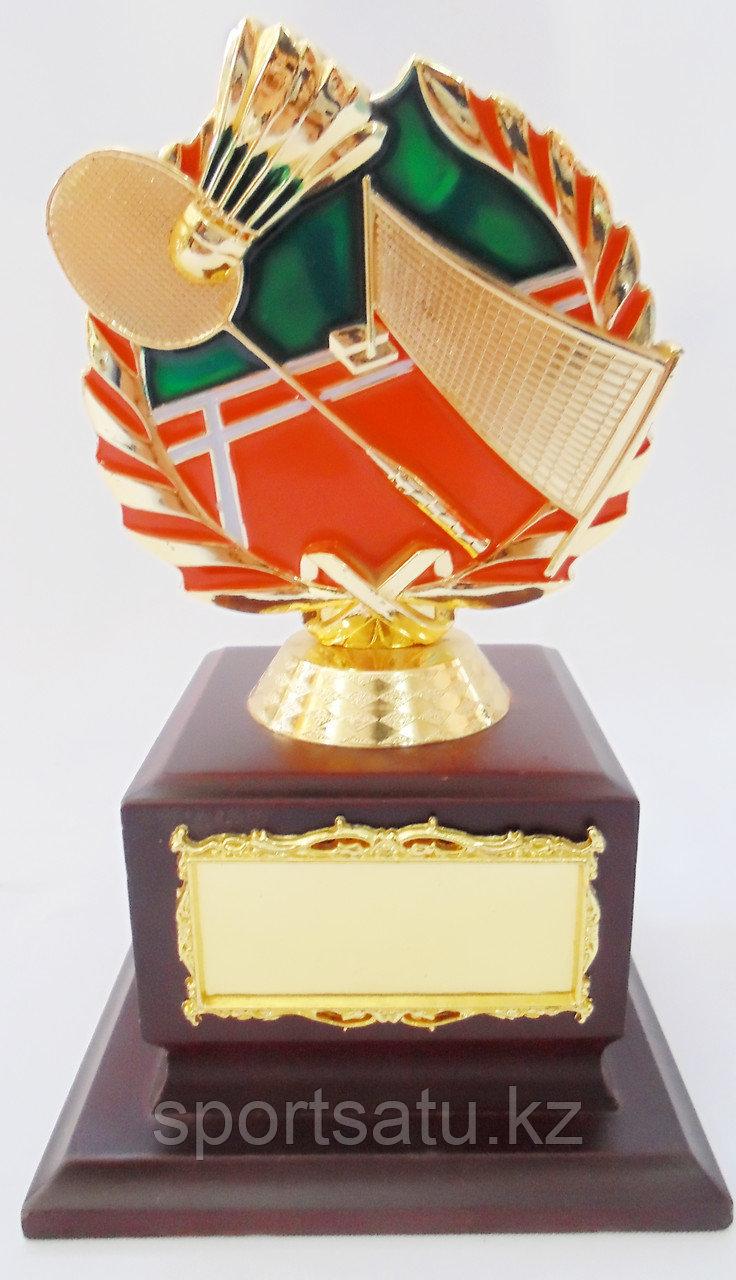 Сувенир кубок для бадминтона