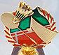 Сувенир кубок для бадминтона, фото 5