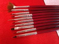 Набор кистей для маникюра, 10 шт, фото 1