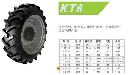 14,9-24 8PR 127A6 KT6 Kunlun, фото 2