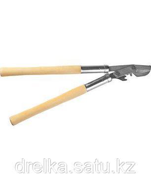 Сучкорез РОСТОК, 40207_z01, сталь Ст45, никелированное покрытие, деревянные рукоятки, рез до 30 мм, 550 мм, фото 2