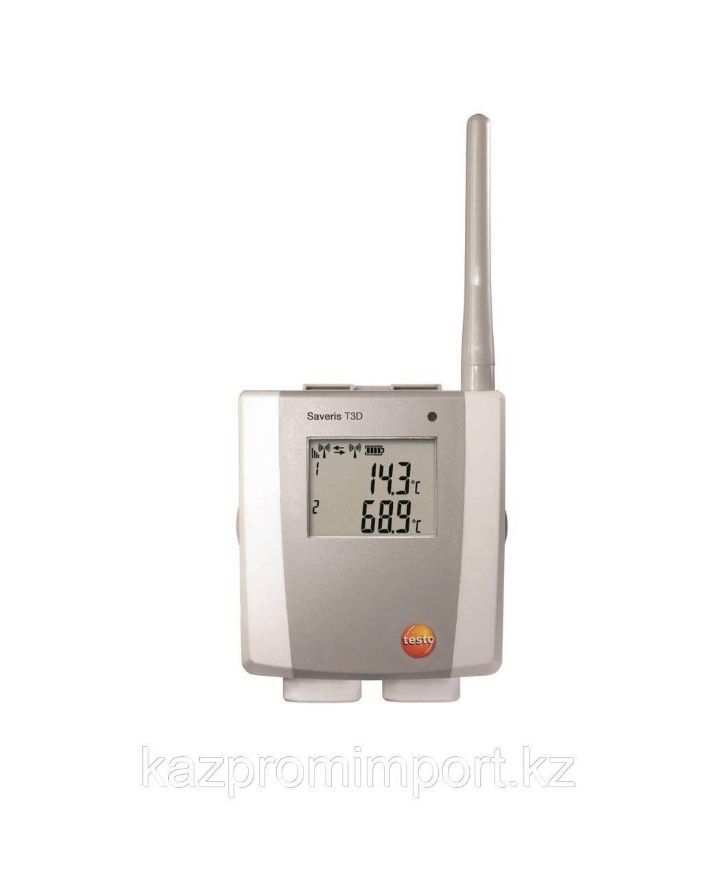 Testo Saveris T3 D - 2-х канальный радиозонд температуры, с дисплеем