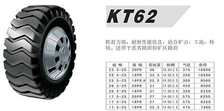 20,5-25 20PR KT62 Kunlun, фото 2
