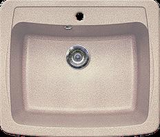 Кухонная мойка из искусственного камня Gran-Stone GS-03  (603х515 мм)  песочный