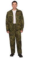 "Костюм ""РЫСЬ"": куртка, брюки (тк. Рип-стоп) КМФ ""Цифра"" зеленая"