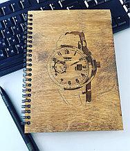 Сувенирный блокнот из дерева