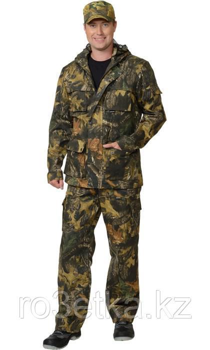 """Костюм """"СЛЕДОПЫТ"""": куртка. брюки (тк. смесовая) КМФ """"Темный лес"""""""