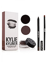 Kylie Eyeliner andgel liner ( 3/1 помадка для бровей )