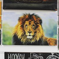 Картина «ЛЕВ 2»100х65
