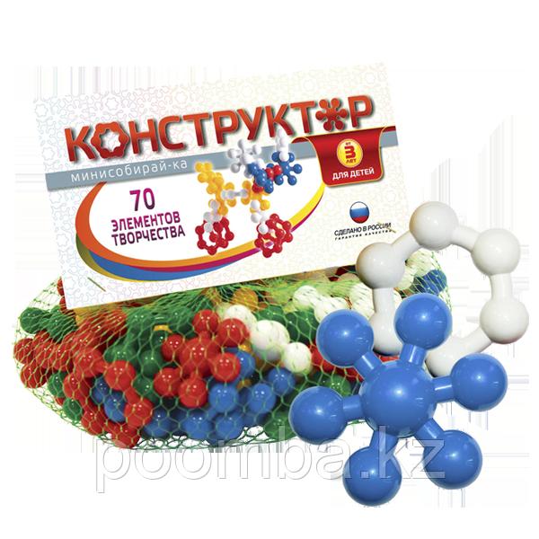 """Конструктор """"Собирай-ка Мини""""№1 в сетке - фото 1"""