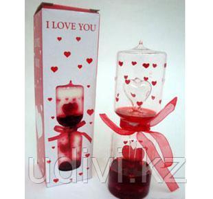 Измеритель любви на день святого Валентина