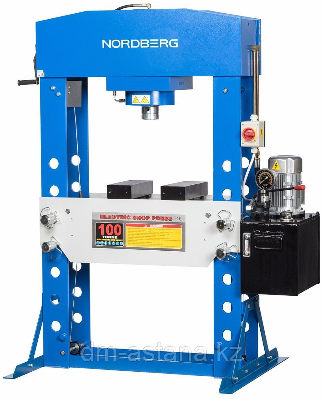 Пресс, электрогидравлический, усилие 100 тонн NORDBERG N36100E