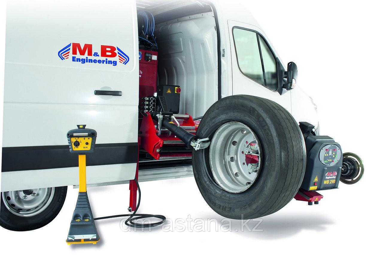 Комплект станок шиномонтажный DIDO Service Mobile 26mv + балансировочный WB 290