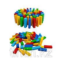 Игра Дженга Цветная 54 брусков - 29х8х8см, AcoolToy, фото 2