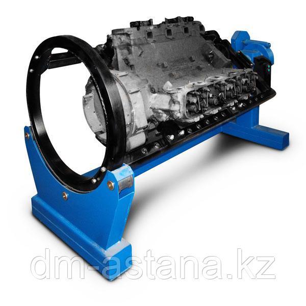 Стенд универсальный для ремонта двс, кпп, мостов и др. агрегатов весом до 2000кг. привод – электромеханический р770е