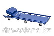 Лежак подкатной с подъемным подголовником