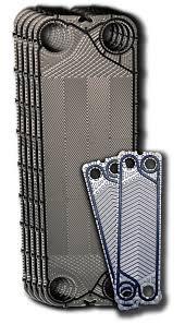 Пластины Sondex из нержавеющей стали для теплообменников сборных (в комплекте с прокладками)