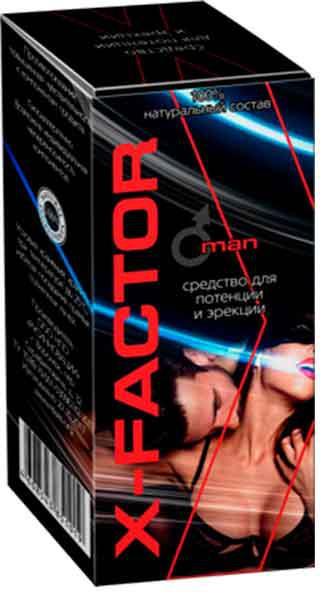 X-FACTOR (Икс-Фактор) - капли для потенции