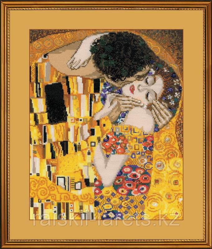 """Набор для вышивания крестом """"Поцелуй"""" по мотивам картины Г.Климта  1170"""