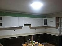 Кухонный гарнитур.Акрил. Черно-белый. На заказ