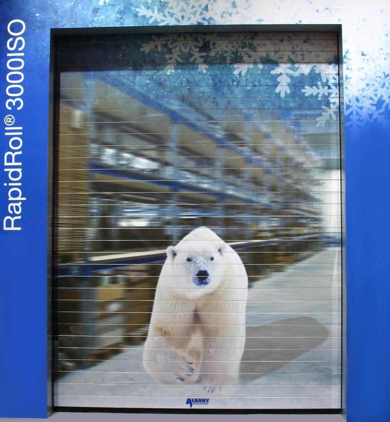 Ворота для холодильных камер Rapid Roll 3000 ISO (Германия)