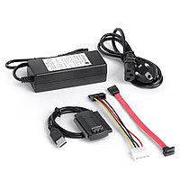 """Конвертер-переходник , USB 2.0 к SATA/IDE поддержка 2,5\3,5\5,25""""\IDE, фото 1"""
