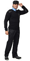 Джемпер форменный чёрный